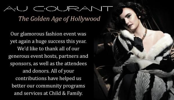Au Courant Website Banner Thank you