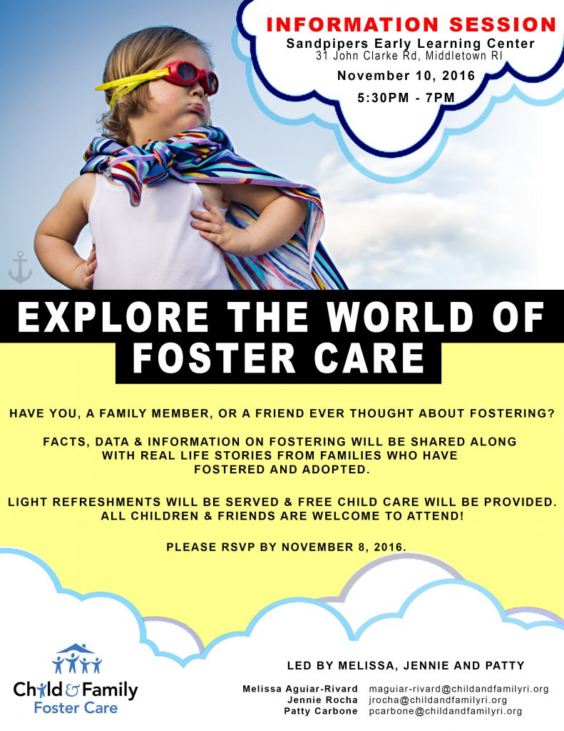 Foster Care Information Session - November 10