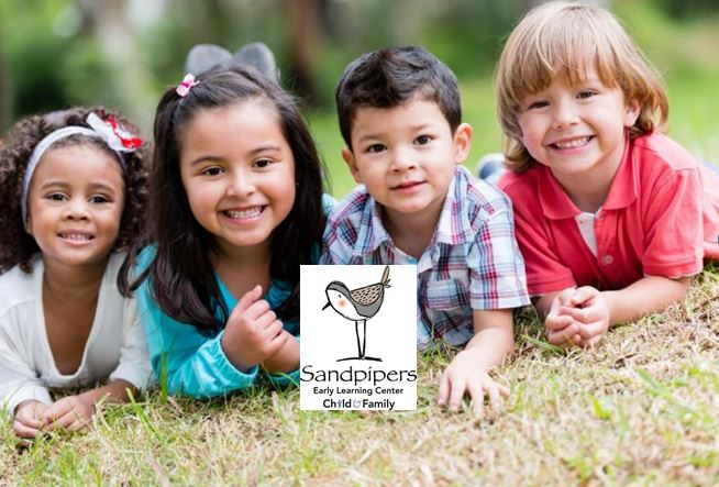 Kids image with Sandpiper logo