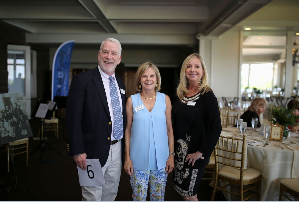 (L to R) Robert Archer, Child & Family Board Members Jean Burditt and Sharon Alemany